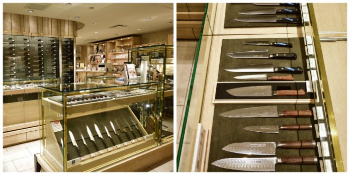 isetan kitchen knives shop