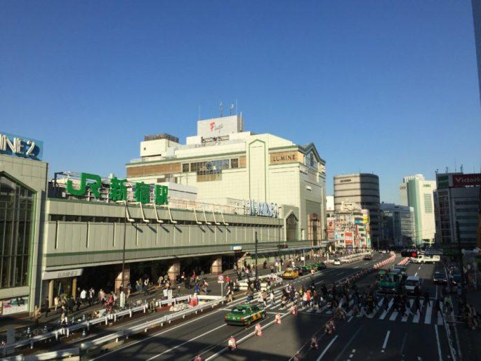 new south exit shinjuku