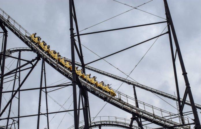 fujiQ roller coaster