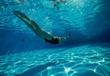 swimming pool diving