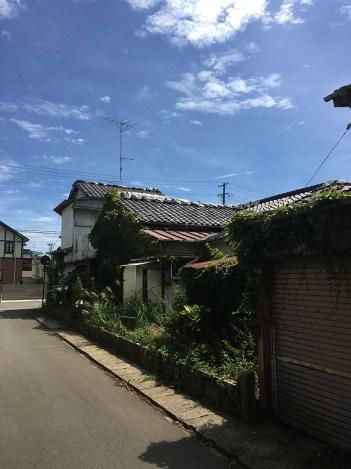 Landscapes around JR Namie Station 04
