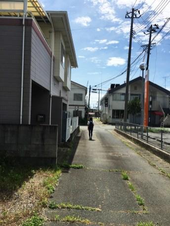 Landscapes around JR Namie Station 02