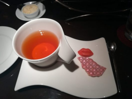 tea and ruby chocolate