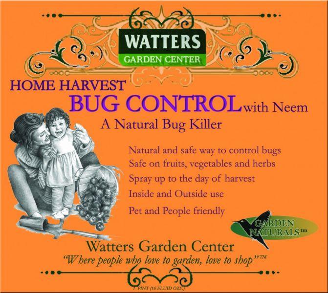 Home Harvest With Neem Oil Watters Garden Center