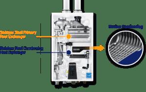 Navien Heat Exchanger