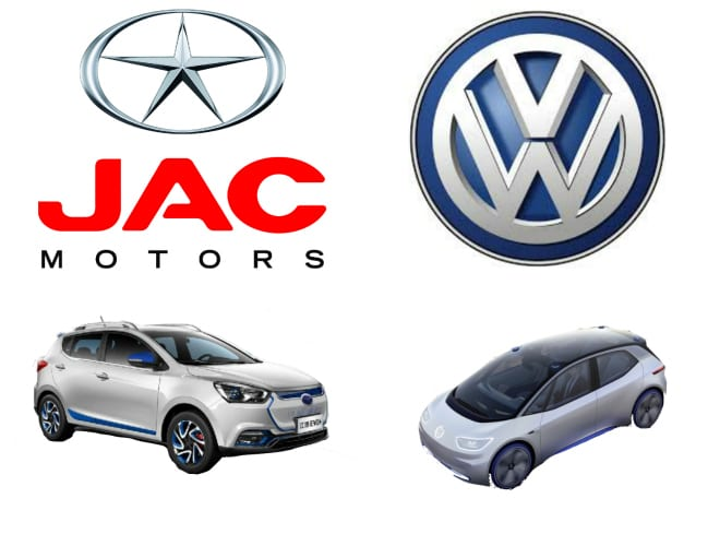 VW and JAC create electric vehicle joint venture for China