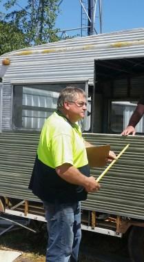 Andy Varcoe measuring window