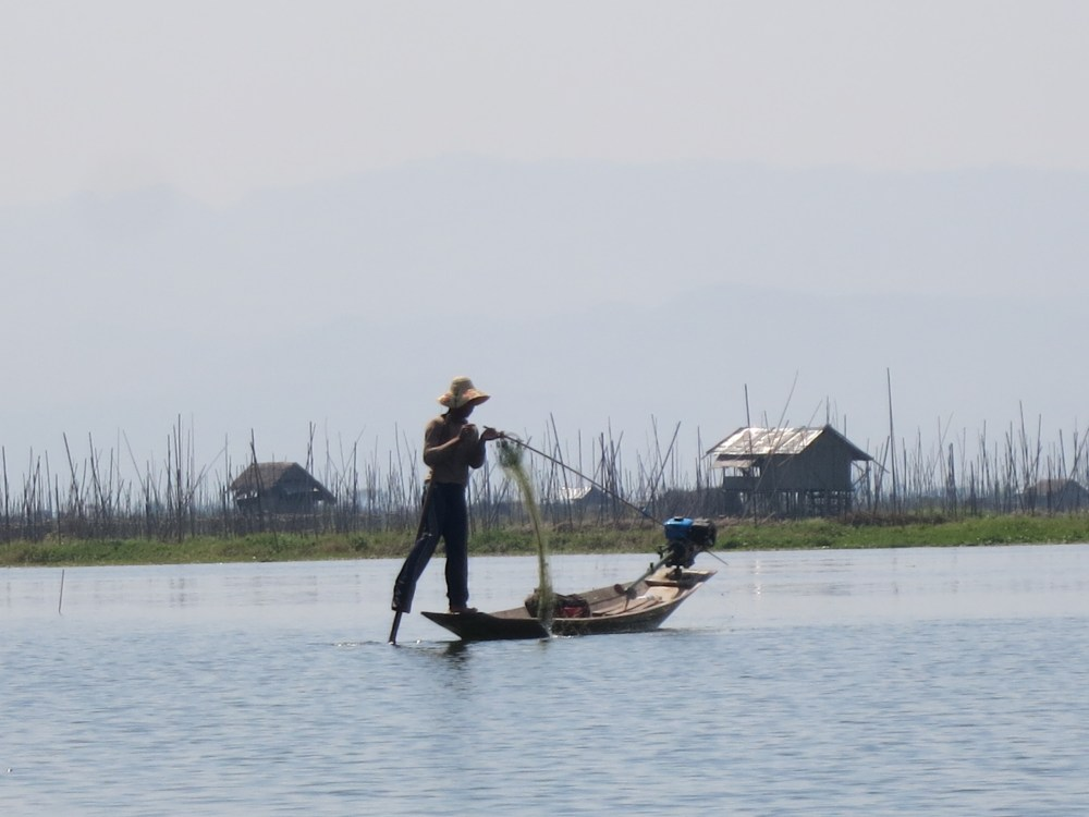 Reflections on Inle Lake (1/5)