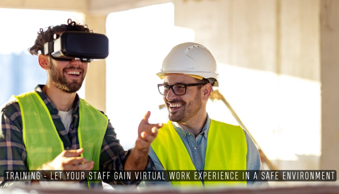 Virtual Tours for training a in the workplace