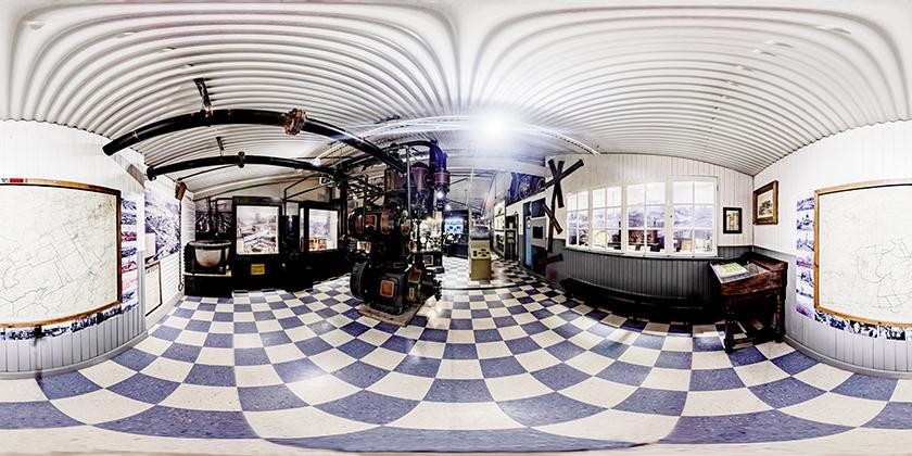 Panoramic image for 360° Virtual Tour. © 2021 CAOIMHIN WATTS