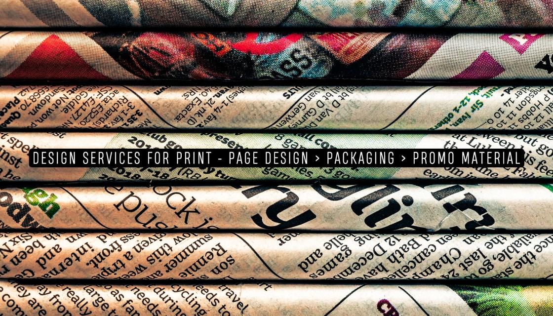 Page Design & Typography - Graphic Design