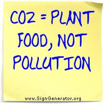 CO2 = Plant Food, Not Pollution