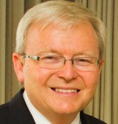Former Aussie PM Kevin Rudd