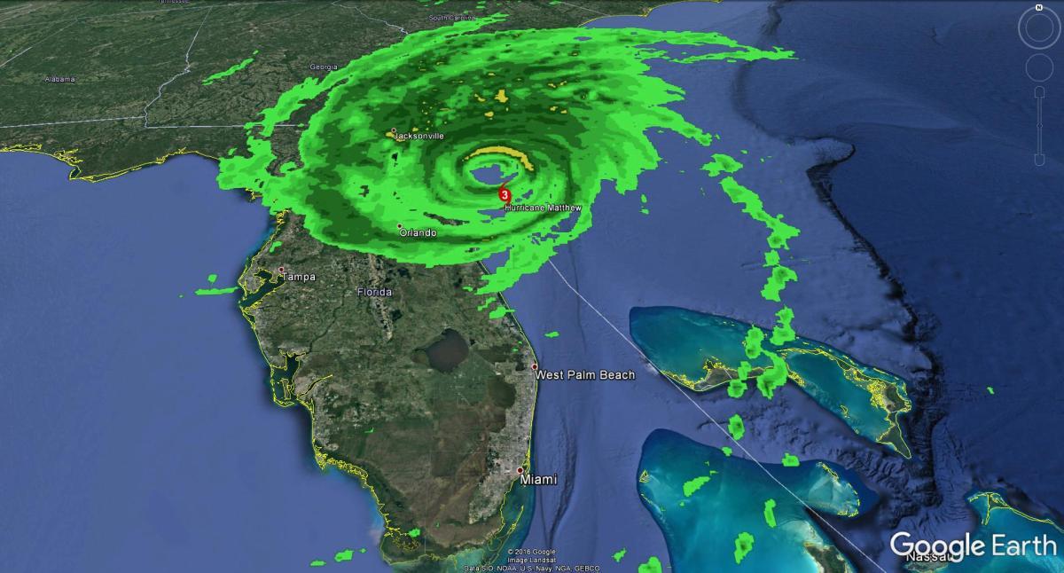 Still no landfall for #Matthew, remains Cat 3 storm | Watts