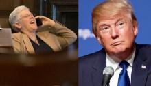 Gina McCarthy and Donald Trump