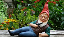 German garden gnome