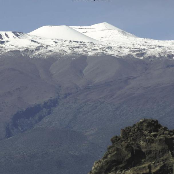 Climate modelers: snow on Hawaiian peaks to disappear by end