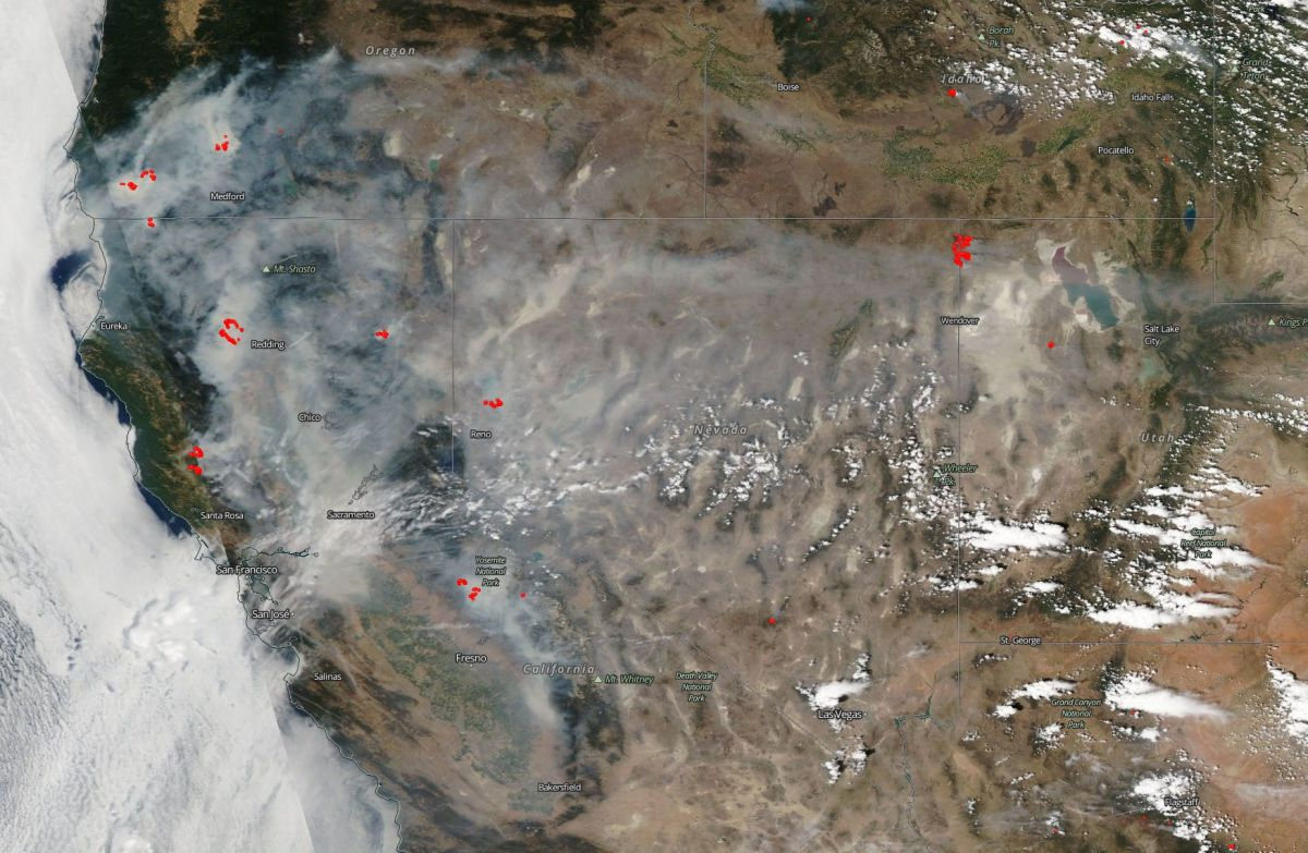 Understanding the Climate and History of California Fires