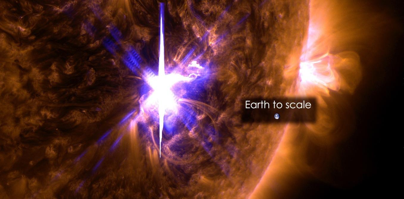 Bad timing: Solar flares disrupted radio communications