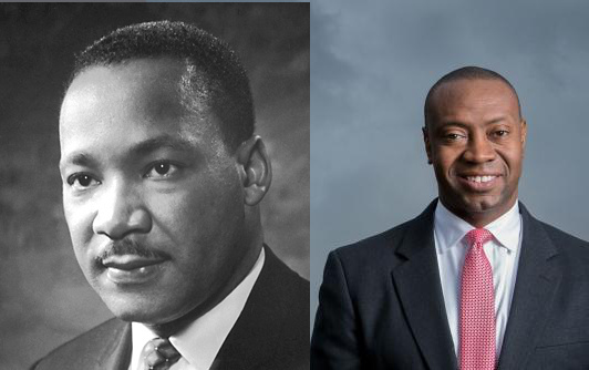 Martin Luther King and J. Marshall Shepherd