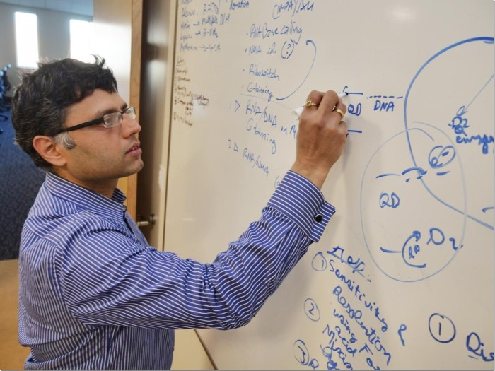 University of Colorado Boulder Assistant Professor Prashant Nagpal Credit: Casey A. Cass