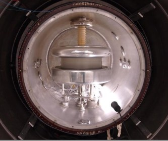 This is the apparatus for measuring the Neutron's EDM. Credit: University of Sussex