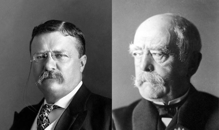 Roosevelt and Bismark