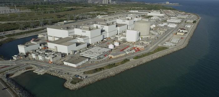 Ontario Power Candu Reactor