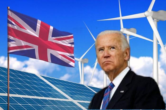 British Wind Biden