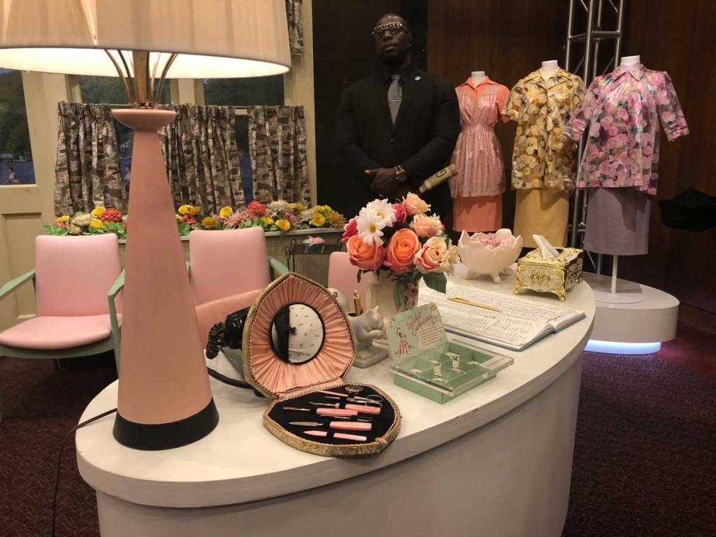The sets and props for Marvelous Mrs Maisel are brought to life at the Paley Center