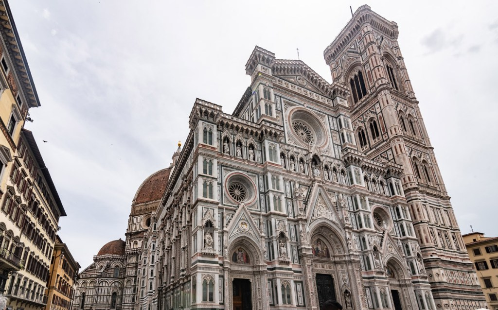 The famous Florence Cathedral Duomo