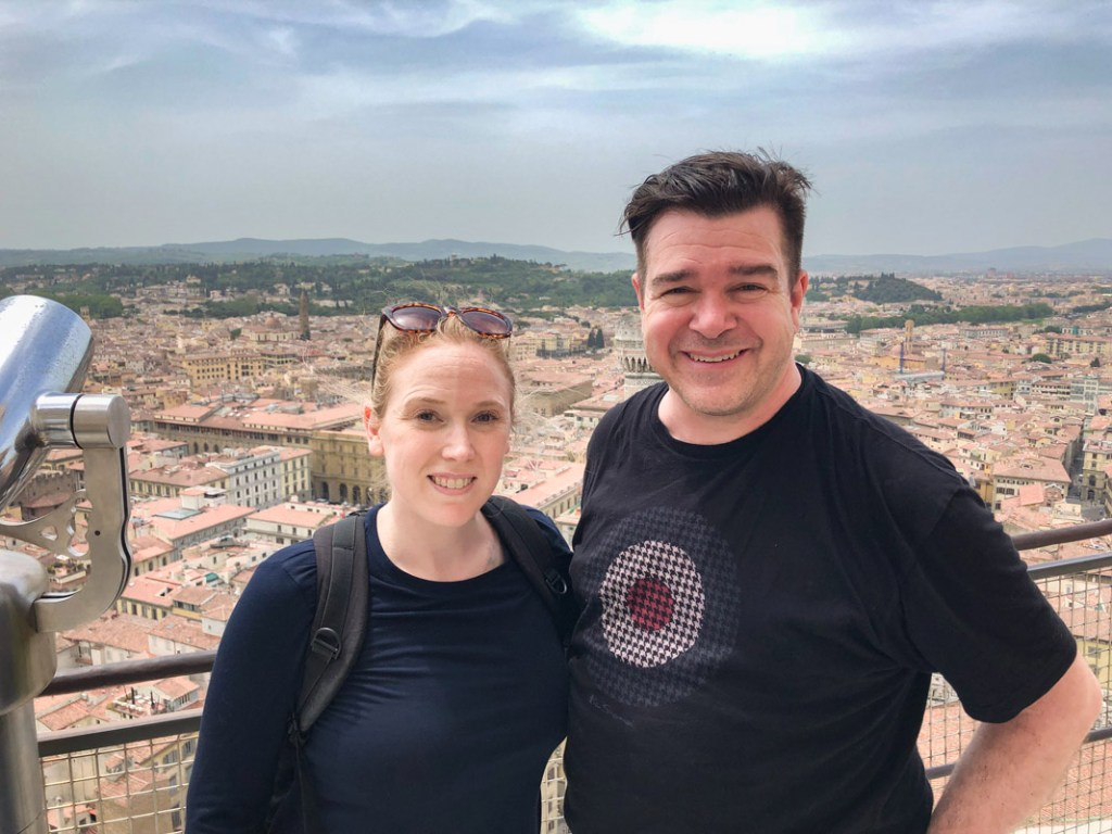We made the climb to the top of the Duomo