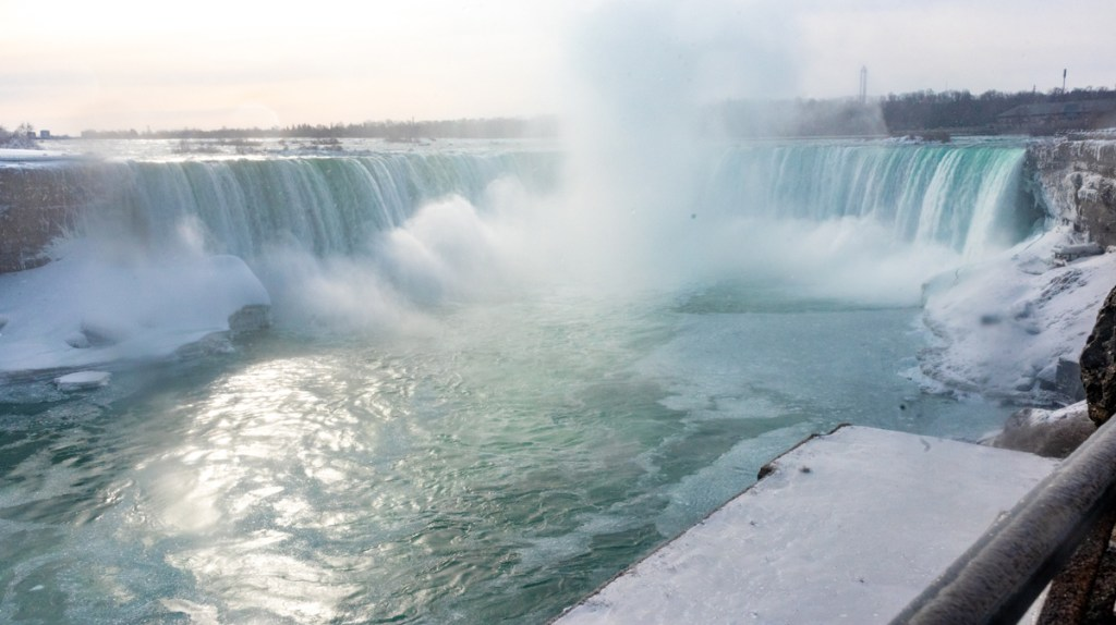 The Horseshoe Falls in Niagara