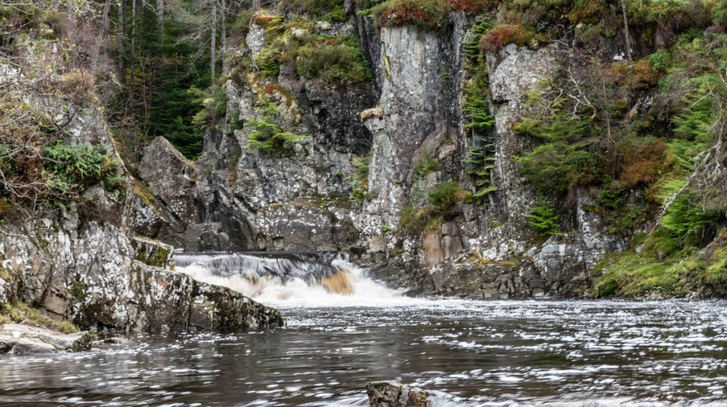 The River Pattack becomes a beautiful rapid at this point of the Scotland road trip
