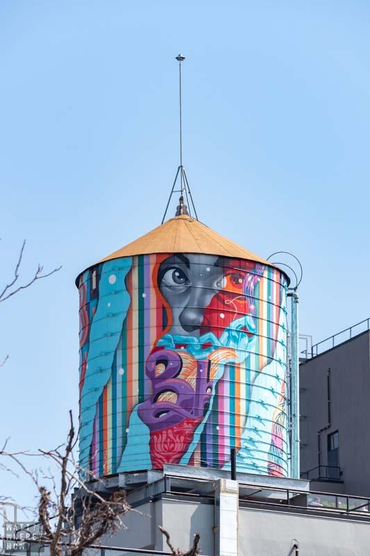 Like most Brooklyn neighborhoods, you'll find plenty of colorful street art around Carroll Gardens and Gowanus.