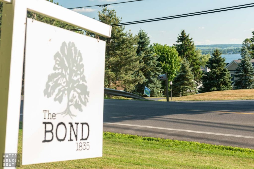 The Bond 1835 is a beautifully renovated farmhouse B&B in Lake Skaneateles New York