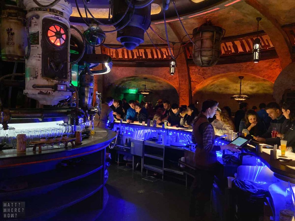 Oga's Cantina is like being in a scene from The Mandolorian.