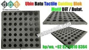Guiding Block Batu Motif dot bulat