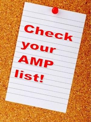Asset Management Plan list