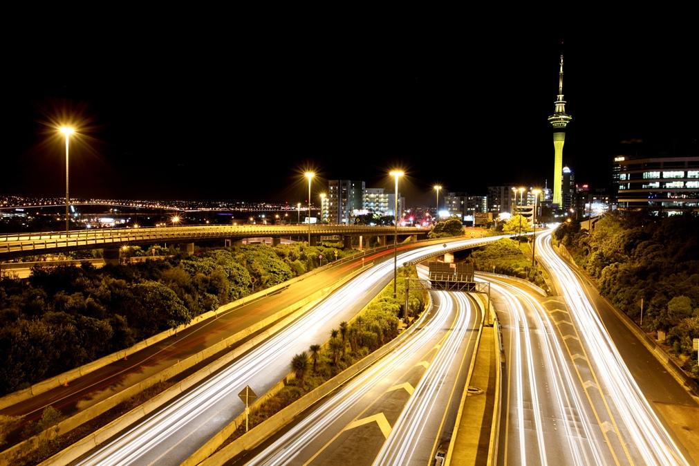 Motorway Auckland by Karl Hipolito