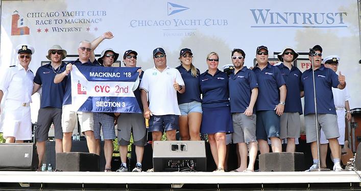Waukegan Mac Racers Win 1st 2nd And 3rd Place Waukegan Joseph Conrad Yacht Club