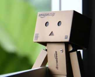 robot de empresa de mensajería