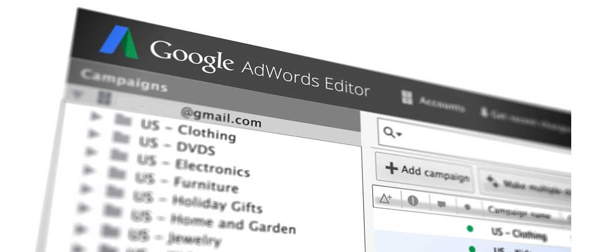 Editor de Google Adwords