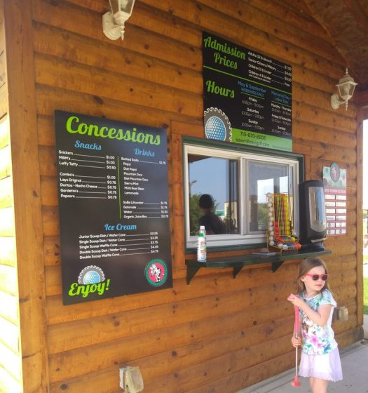 Sawmill Adventure Park Review – Mini Golf – Wausau Mama