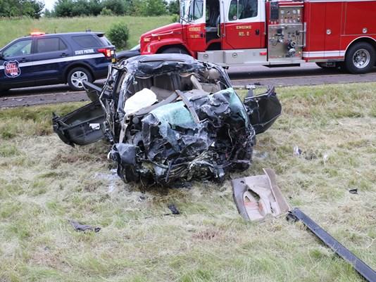 Car Crash Menomonie