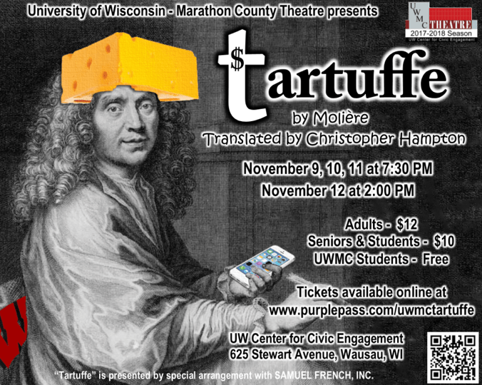 """a review of molieres comedy tartuffe Issues the play portrays and the reality in the french society that motivates such an opposition: """"tartuffe was based on a family situation-complete with cuck."""