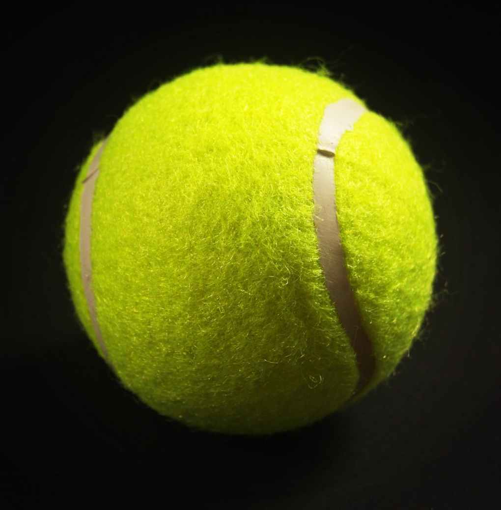 action ball black background bright
