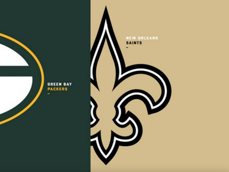 Saints/ Packers