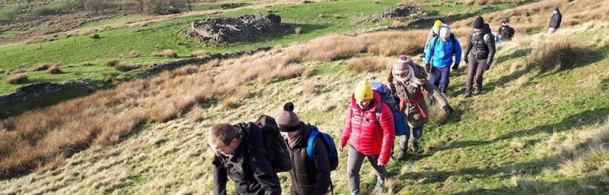 Superb moorland walk