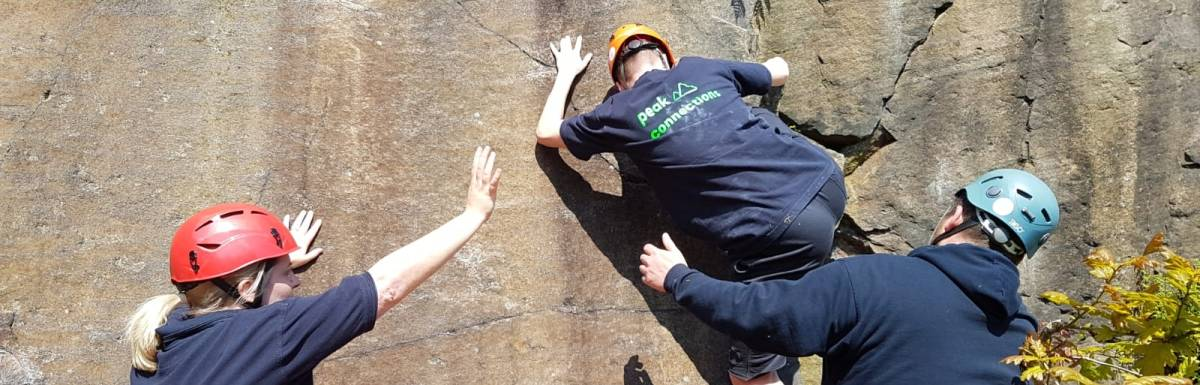 Great sunny bouldering